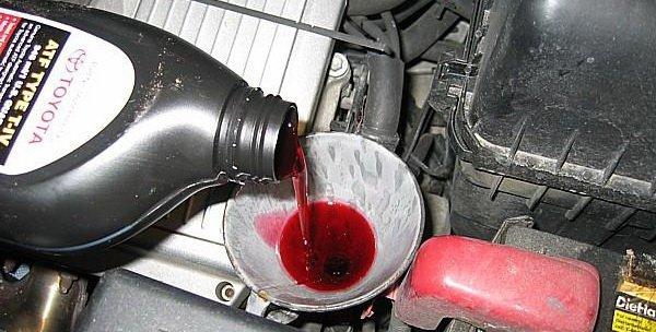 Какое масло заливать в АКПП (автоматическую коробку передач)?