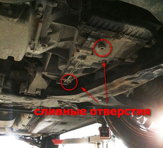 Замена масло форд мондео 4
