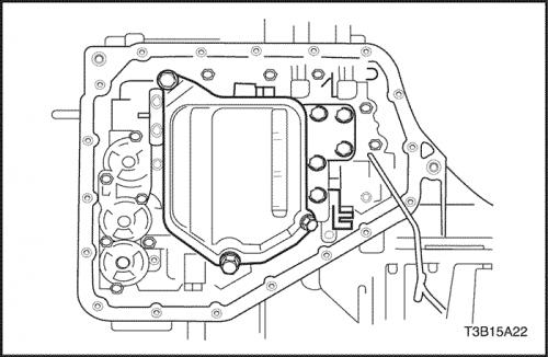 Схема АКПП Лачетти
