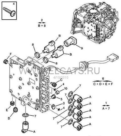 Схема клапанов