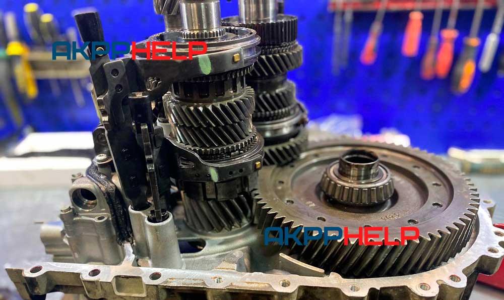 механическая часть powershift ford kuga