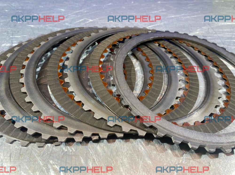состояние фрикционных дисков