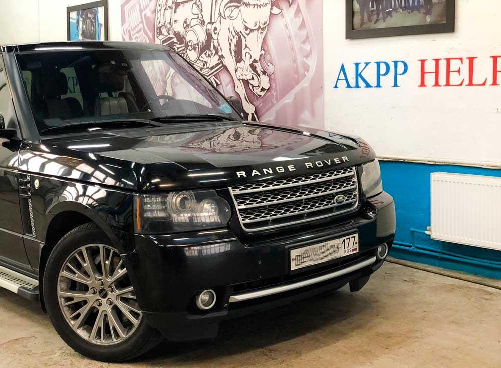 ремонт акпп Range Rover Sport