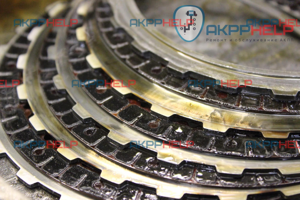 фрикционные диски акпп мини