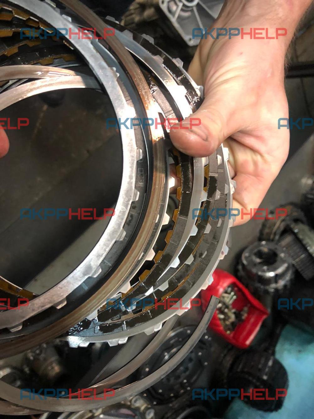 фрикционные диски ленд крузер