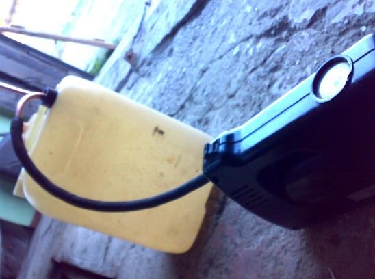 Канистра и компрессор для акпп