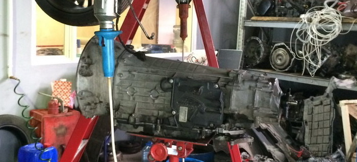 Как поставить коробку передач | Установка автоматической коробки передач