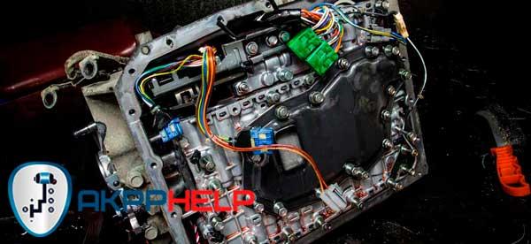 ремонт гидроблока АКПП Hyundai Starex H1