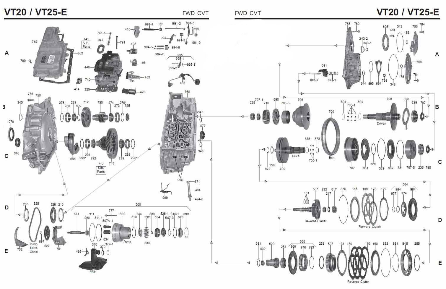 Акпп руководство VT25E (Saturn)