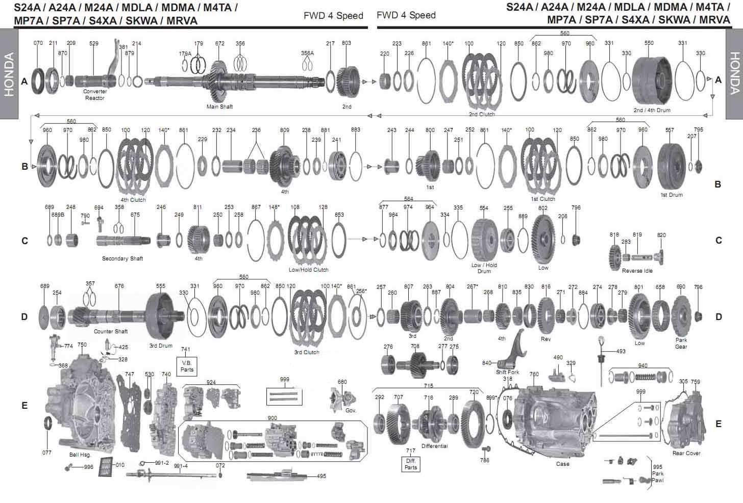 схема руководство M4TA/ MDMA / S4XA/ SKWA