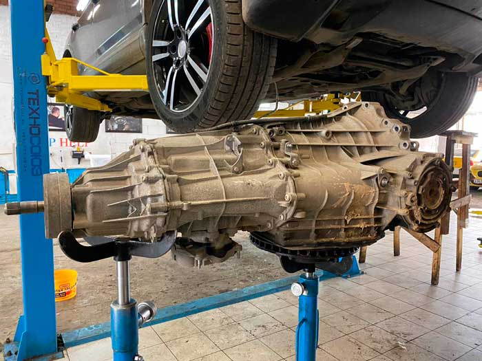 Ремонт S-Tronic Audi Q5