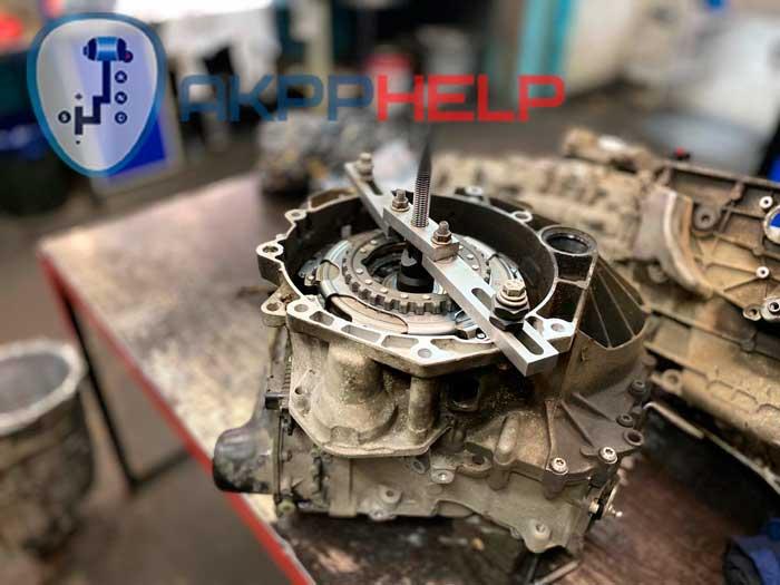 Шкода Суперб 1.8 турбо ремонт коробки передач