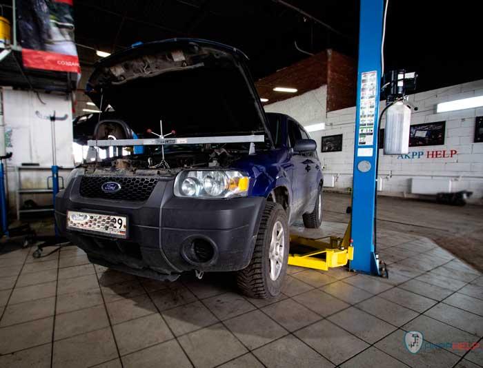ремонт акпп форд эскейп 3.0