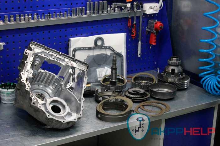 капитальный ремонт коробки передач ssangyong actyon new