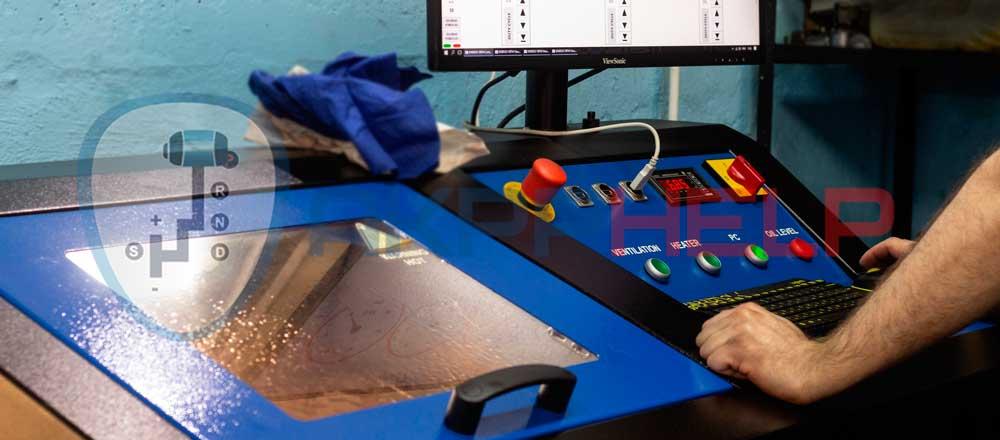 Гидравлический стенд для тестирования гидроблоков