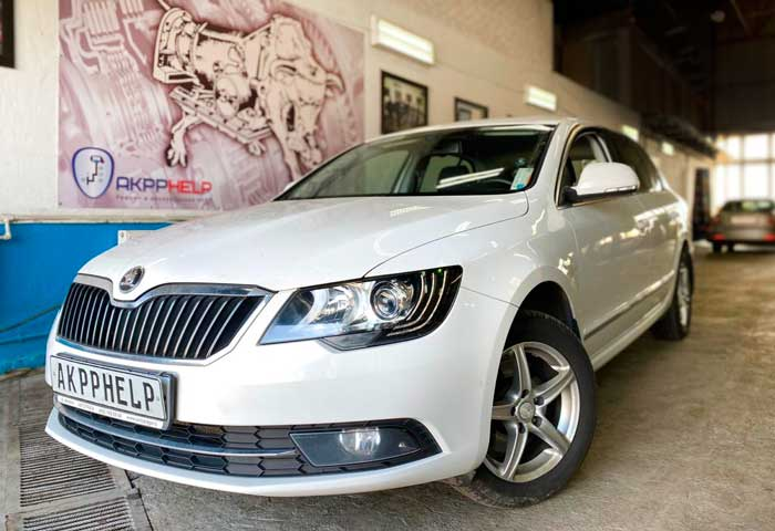 ремонт ДСГ 7 0CW DQ200 Skoda Superb