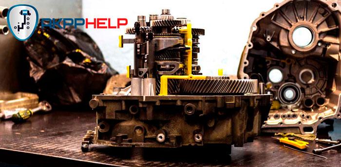ремонт механической части ДСГ 6