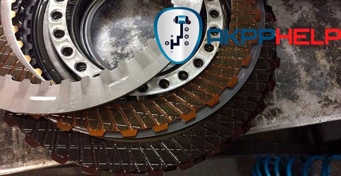 фрикционные диски робота