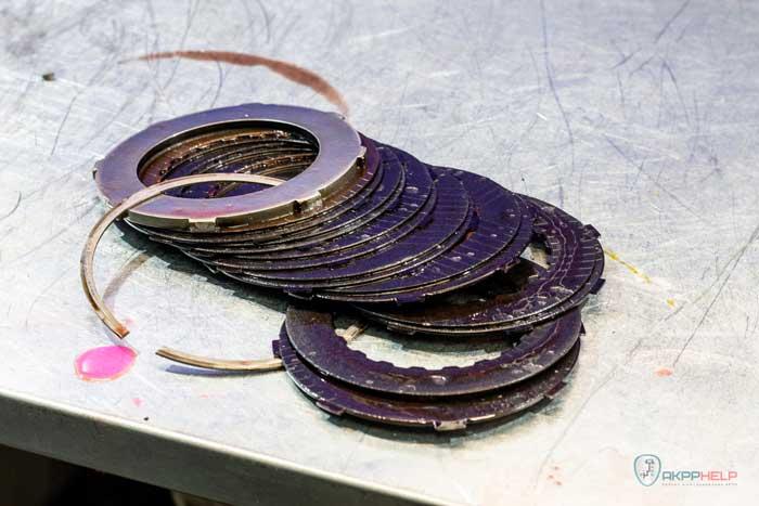 фрикционные диски автоматической коробки Рено