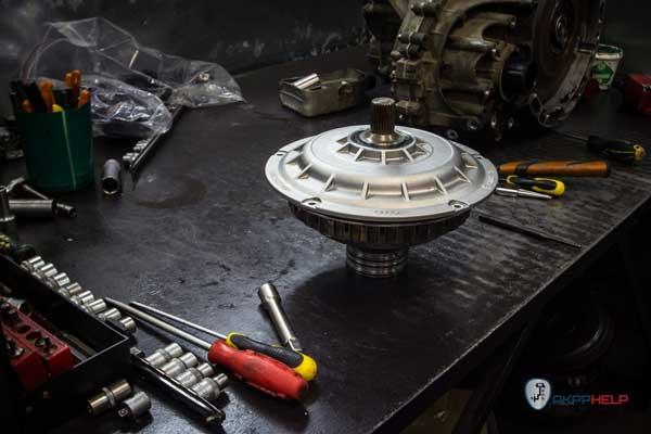 коробка передач робот на audi ремонт