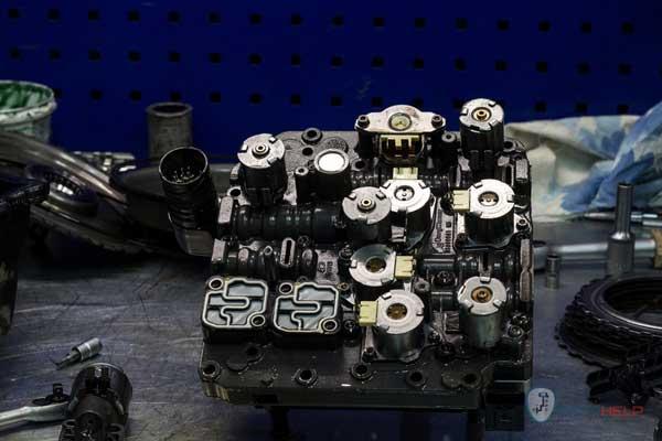 ремонт мехатроника роботизированной коробки