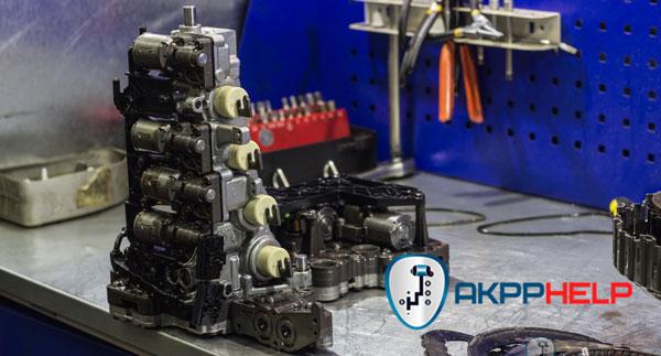 ремонт мехатроника S-Tronic робот