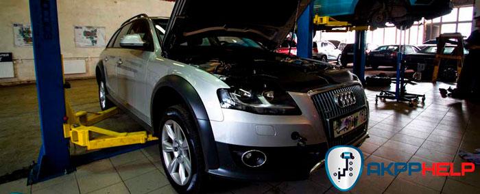 ремонт S-Tronic Audi A4