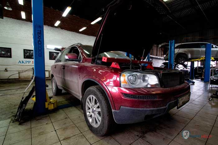 ремонт кпп tf81sc Volvo Xc90
