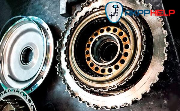 замена сцепления s-tronic Audi A5
