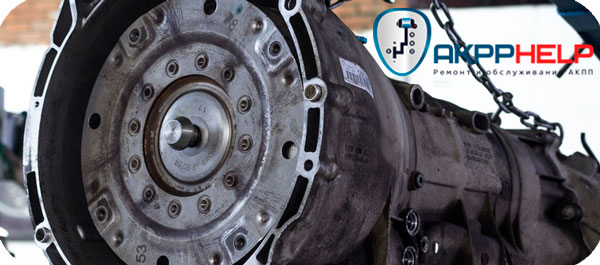процесс ремонта автоматической коробки передач