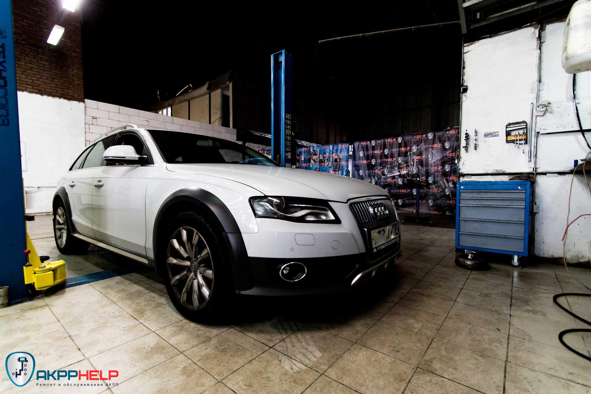 Ремонт 0b5 Audi A4 Allroad