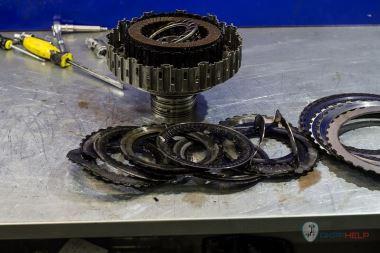 Комплексный ремонт Audi A6 DL501 (0B5)