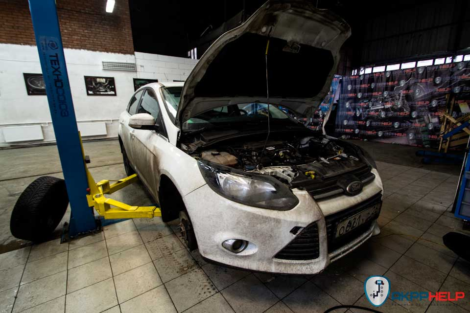 Ремонт Powershift Ford Focus 3