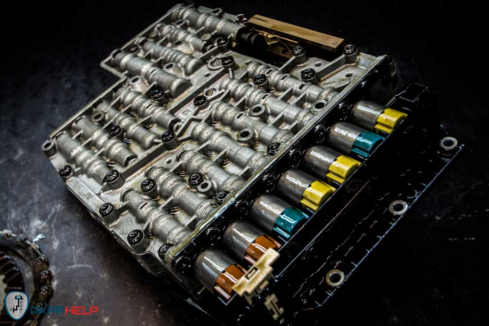 ремонт гидроблока ZF 6HP21