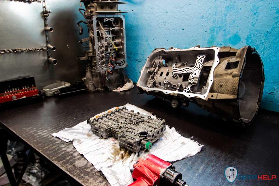 Ремонт АКПП BMW 5 F10