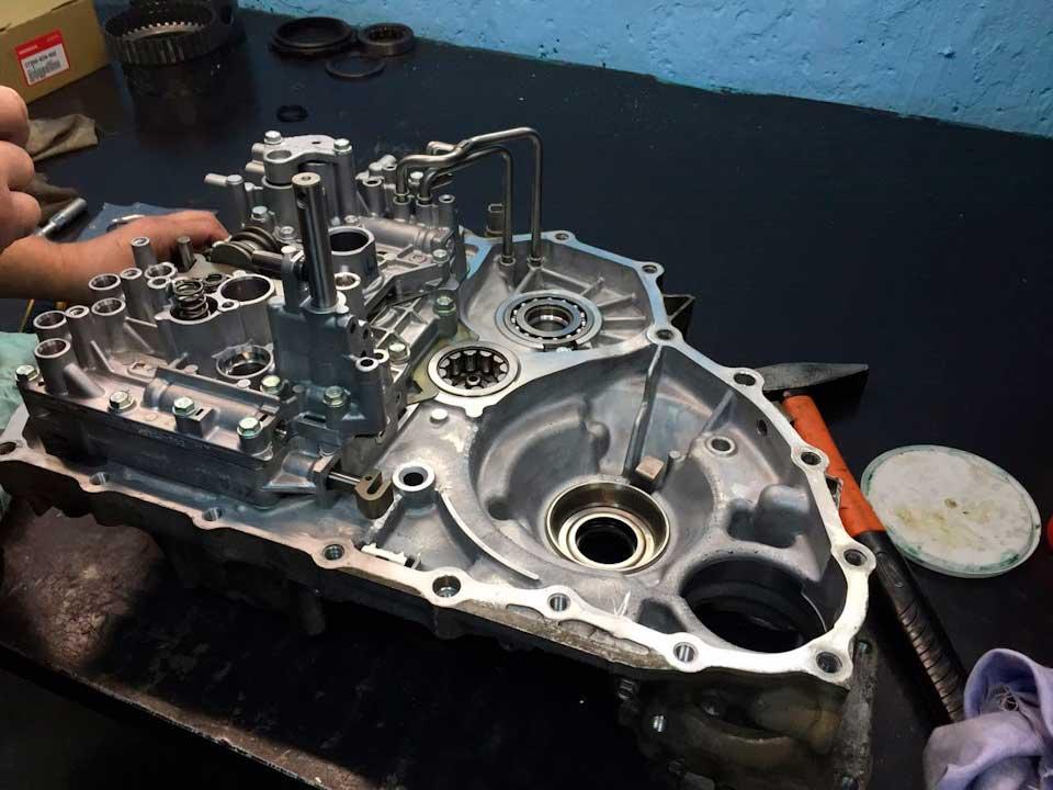 Ремонт АКПП Honda C-RV