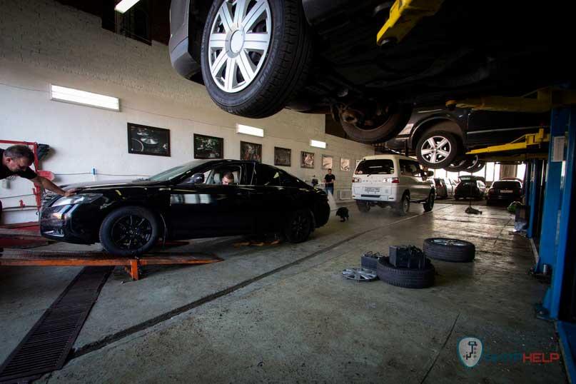 ремонт автоматической трансмиссии Тойота Камри