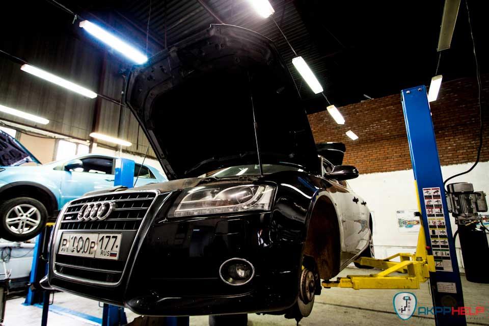 ремонт S-Tronic Audi A5