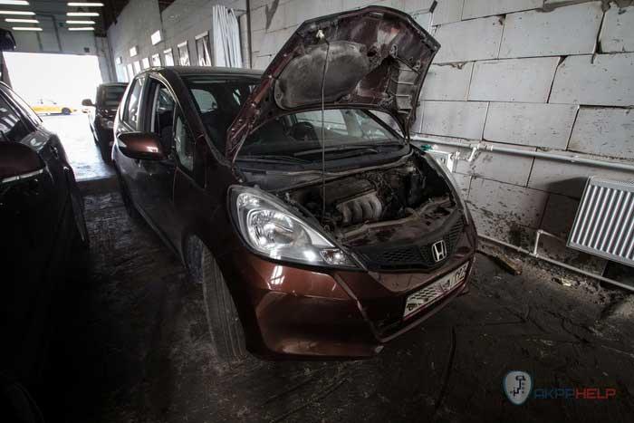 ремонт вариатора Хонда Джазз