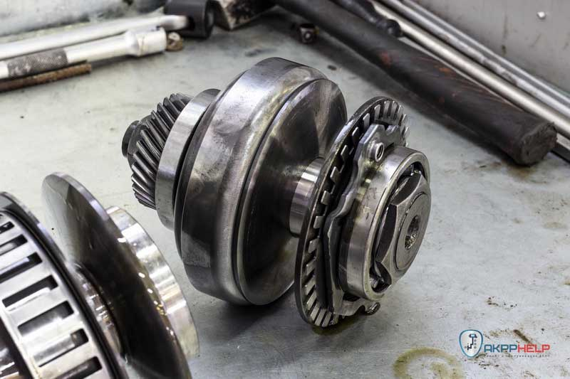 ремонт вариатора ниссан джук JF015