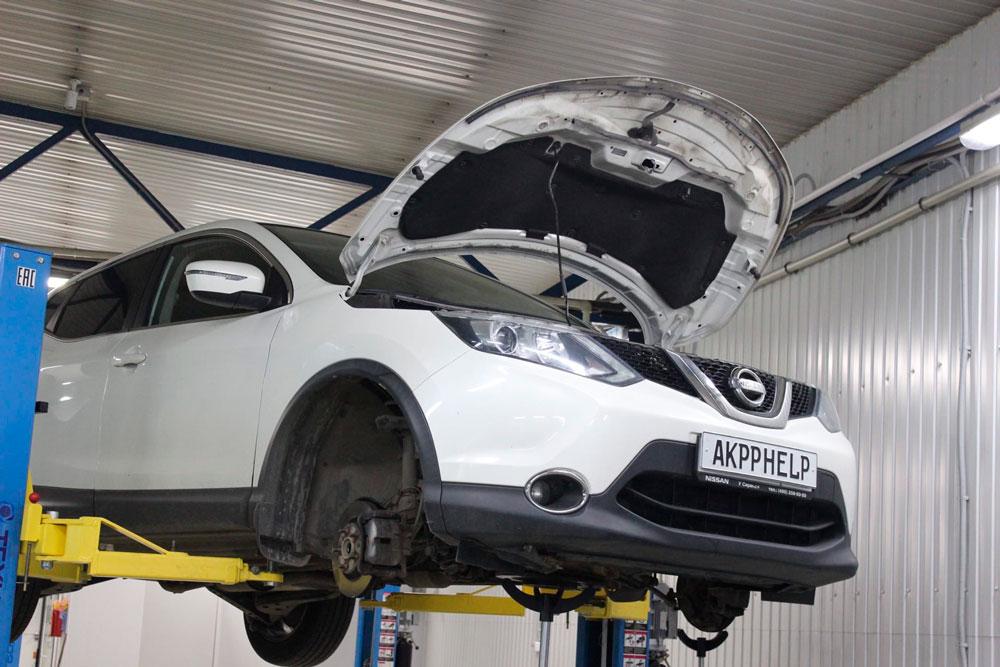 ремонт вариатора Nissan Qashqai J11 2.0