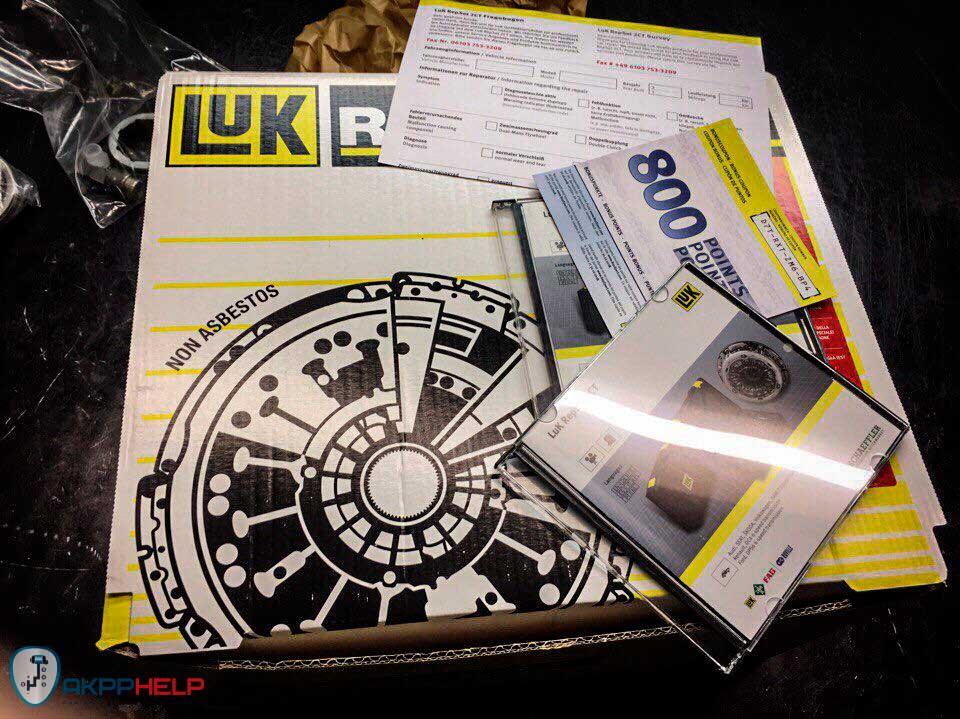 Оригинальный комплект сцепления Luk