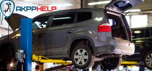 ремонт АКПП Chevrolet Orlando