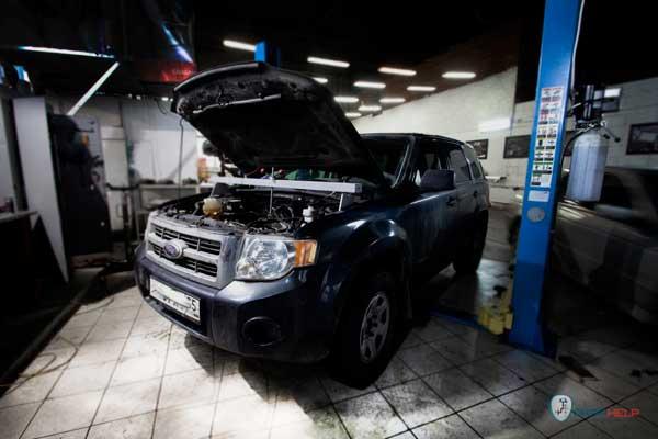 ремонт АКПП Ford Escape