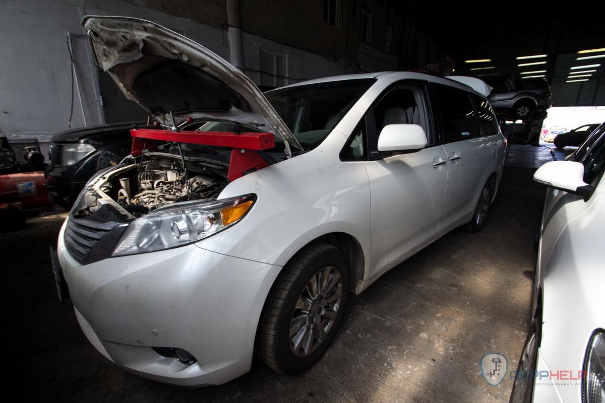 Ремонт АКПП Тойота Сиена U660