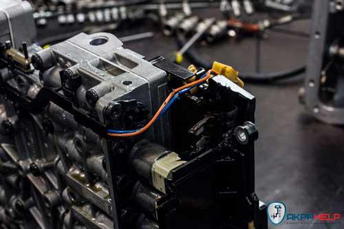 ремонт гидроблока АКПП BMW X5 e70