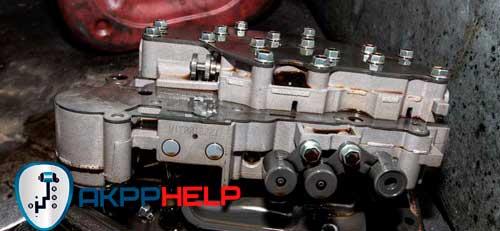 ремонт гидроблока тойота