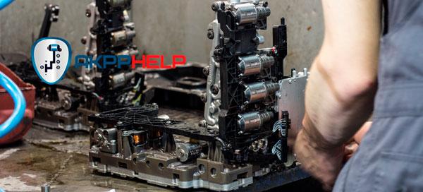ремонт мехатроника Audi A7
