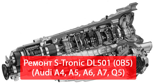ремонт S-Trionic DL501